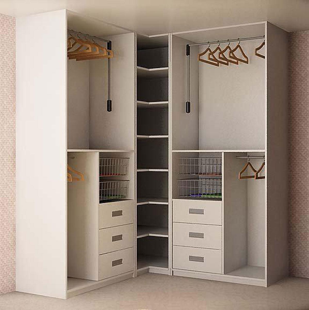 Наполнение углового шкафа купе спальню - спальня с угловым ш.